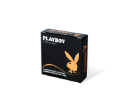 Playboy Lubricanted Ultra Thin Condoms 3 Pack