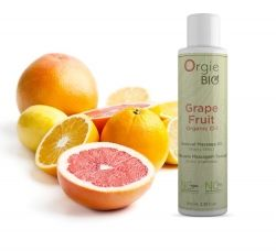 Orgie Bio Vegan Grapefruit Massage Oil