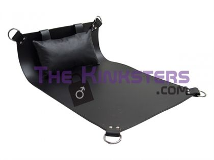 4 Point Leather Sling with Cushion