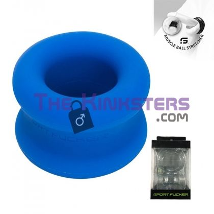 Muscle Ball Stretcher Blue