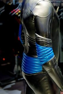 Mens Rubber Padded Suit