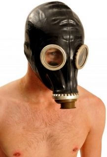 Black Russian Gas Mask (Screw Fit)