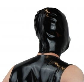 Rubber Hood with Medical Mask & Rebreathing Bag