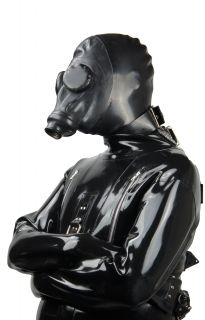 Heavy Rubber Deluxe Strait Jacket