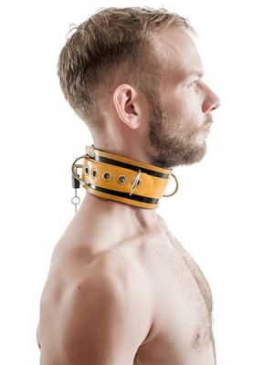 Rubber Lockable Collar