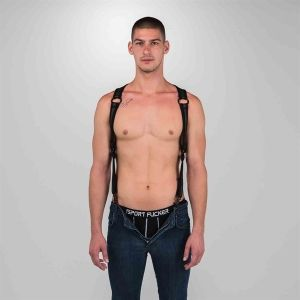 Neo Heckler Harness Black