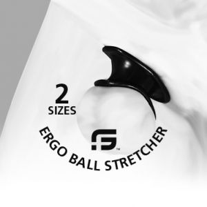 Ergo Ball Stretcher Red