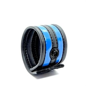 Neoprene Racer Ball Strap Blue