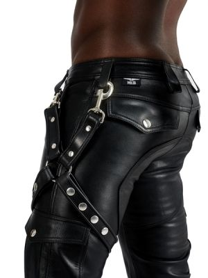 Mister B Leather Leg Harness