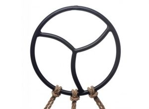 Black Shibari Ring