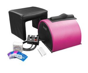 Sybian With Matching Stool - Playful Pink