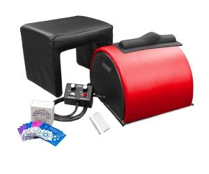 Sybian With Matching Stool - Blushing Red