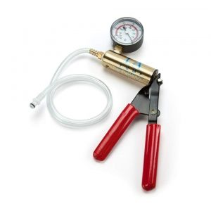 LA Pump Deluxe Metal Pump with Pressure Gauge